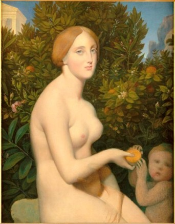 Venus at Paphos by Ingres