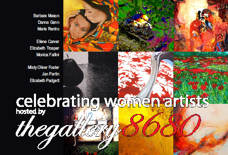 """thegallery8680 presents """"Celebrating Women Artists"""""""