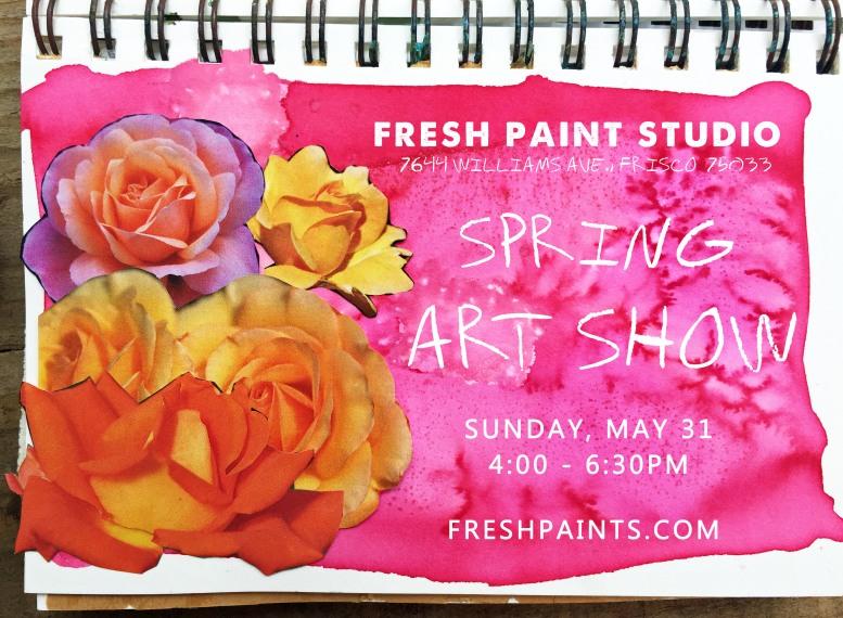 fps Spring Show invite
