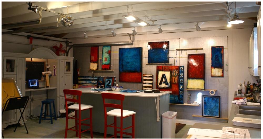 fresh paint studio - artseen studio tour