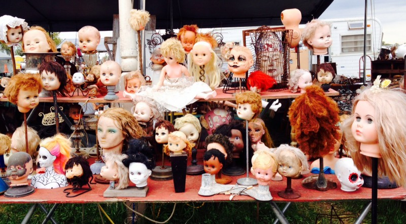 doll head menagerie