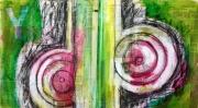 Abstract Circle Totem
