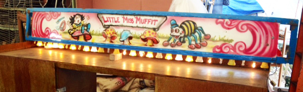 "True fact: ""Little Miss Muffet"" was my CB handle as a little girl."