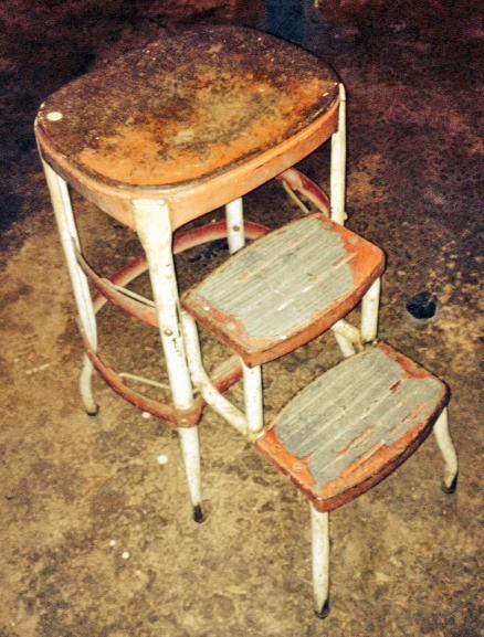 A stool like Grandma Ginny's
