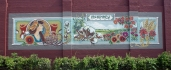 McKinney Public Mural, Historic Downtown McKinney, approx. 40 x 9'