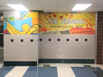 Staley Middle School Mural (The Original)