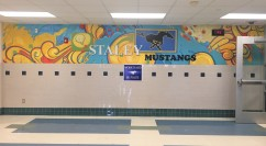 Staley Middle School Mural